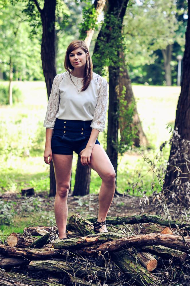 Denim shorts - summer essential