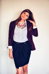 classy striped shirt