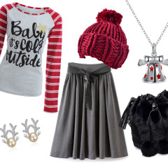 Baby it's cold outside - Christmas outfit inspiration